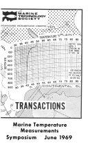 Transactions  Marine Temperature Measurements Symposium  June 1969
