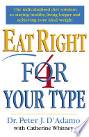 Eat Right 4 Your Type Book PDF