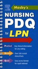 Mosby s Nursing PDQ for LPN