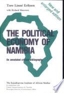 The Political Economy Of Namibia