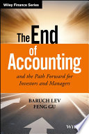 The End Of Accounting And The Path Forward For Investors And Managers PDF