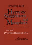 Handbook of Hypnotic Suggestions and Metaphors Pdf/ePub eBook