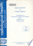 Quality Assurance in Nuclear Medicine