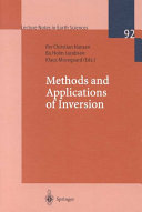 Methods and Applications of Inversion