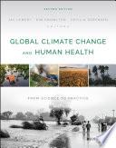 Global Climate Change and Human Health Book