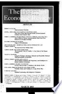 The American Economic Review  , Volume 93