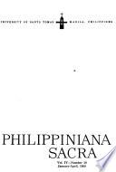 Philippiniana Sacra