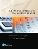 Cover of Foundations of Finance Unit Reader BFF1001 (Custom Edition)