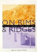 On Rims   Ridges