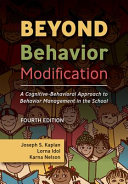 Cover of Beyond Behavior Modification