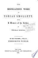 The Miscellaneous Works of Tobias Smollett  Peregrine Pickle  pt  2