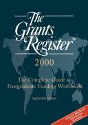 The Grants Register 2000