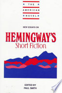 New Essays on Hemingway s Short Fiction