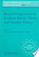 Recent Perspectives in Random Matrix Theory and Number