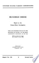 Blue-mold Cheese