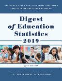 Digest of Education Statistics 2019 Book