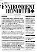 Environment Reporter Book