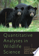 Quantitative Analyses in Wildlife Science