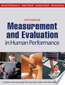 Measurement and Evaluation in Human Performance  5E Book