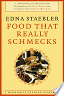 """Food That Really Schmecks"" by Edna Staebler, Bevvy Martin"
