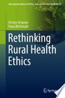 Rethinking Rural Health Ethics