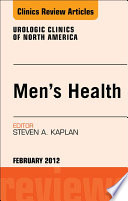 Men S Health An Issue Of Urologic Clinics E Book Book PDF