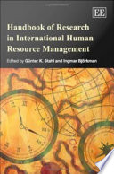 Handbook of Research in International Human Resource Management by Günter K. Stahl,Ingmar Björkman PDF