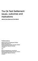 The Ok Tedi Settlement