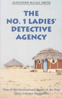 The No. 1 Ladies' Detective Agency Alexander McCall Smith Cover