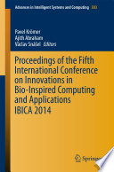 Proceedings of the Fifth International Conference on Innovations in Bio Inspired Computing and Applications IBICA 2014