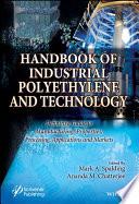 Handbook of Industrial Polyethylene and Technology Book