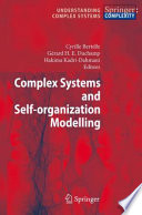 Complex Systems and Self-organization Modelling
