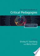 The SAGE Handbook of Critical Pedagogies