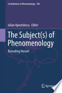 The Subject(s) of Phenomenology