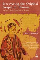 Recovering the Original Gospel of Thomas Pdf/ePub eBook