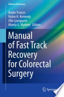 Manual of Fast Track Recovery for Colorectal Surgery Pdf/ePub eBook