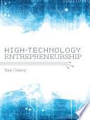 High Technology Entrepreneurship