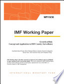 Growth at Risk: Concept and Application in IMF Country Surveillance