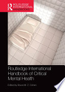 Routledge International Handbook of Critical Mental Health