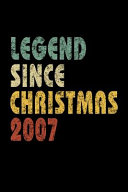 Legend Since Christmas 2007