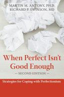 When Perfect Isn't Good Enough Pdf/ePub eBook
