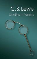 Studies in Words