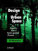 Design of Urban Space Book