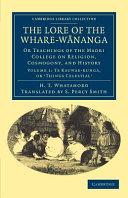 The Lore of the Whare-wānanga