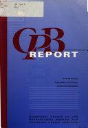 Cpb Report