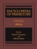 Pdf Encyclopedia of Prehistory Telecharger