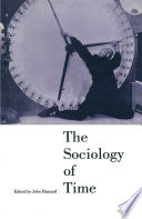 The Sociology of Time Book