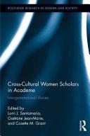 Cross-Cultural Women Scholars in Academe [Pdf/ePub] eBook