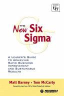 The New Six Sigma