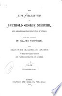 The Life and Letters of Barthold George Niebuhr